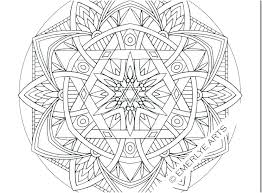 Printable Mandalas Coloring Pages Free Mandala For Adults Only