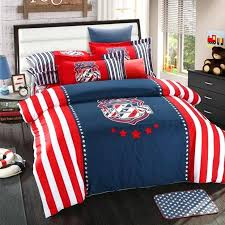 ohio state bedding bed sheets flag patriotic comforters sheet crib sets