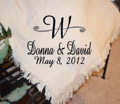 Wedding Throw Blankets