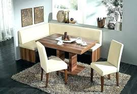 breakfast nook set throughout great small corner kitchen table dining full plan 16