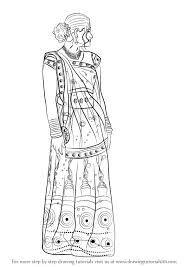 Sareeindian Girl Coloring Page сари раскраскиsaree Coloring