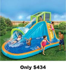 pools for kids. Delighful Kids Waterslide Inflatable Aqua Sports Water Airblown Splash Pool Slide Park New In Pools For Kids M
