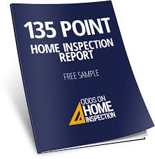 Calgary Home Inspection Report Free Sample Odds On Home Inspection