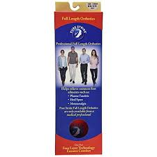 Pure Stride Full Length Orthotics Men 10 10 5 Women 12 12 5 Professional Arch Supports