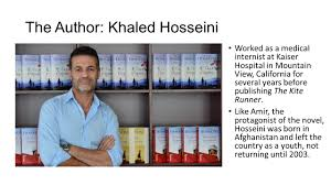 the kite runner english ii ppt video online  the author khaled hosseini