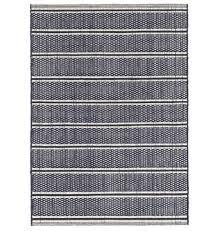 dash albert archer navy woven cotton rug