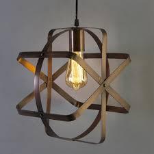 led industrial globe pendant light 40