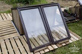 cold frame double glazing glass