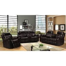 Living In Style Gabrielle Piece Living Room Reclining Sofa Set