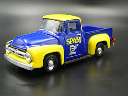 1956 FORD F100 PICKUP TRUCK SPAM RARE 1:64 SCALE ...