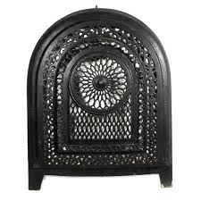 antique fireplace cover glorious antique cast iron arched fireplace cover dating from the early it features antique fireplace cover