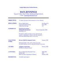 Sample Student Resume | Facs - Careers | Pinterest | Student Resume ...