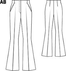 Flare Pants Pattern Enchanting Flared Pants 4848 48A Sewing Patterns BurdaStyle