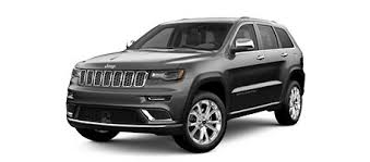 Jeep Grand Cherokee Trim Comparison Chart Quickly Compare The Jeep Vehicle Lineup Jeep