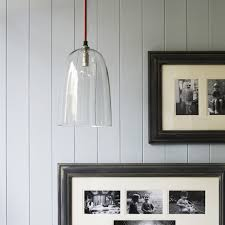 nordic simple orb clear glass pendant lighting. Pendant Chandelier Simple With A Red Braided Flex And Clear Glass Shade This Wonderfully Nordic Orb Lighting