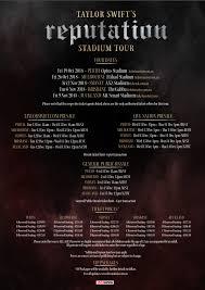 Ticketmaster Taylor Swift Seating Chart Taylor Swift Announces Australian Reputation Tour