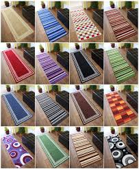 incredible washable kitchen rug runners details about machine washable non slip hall runner rugs new