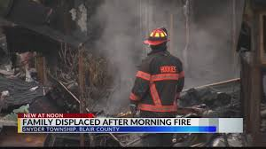 Fire in Snyder Township leaves family homeless