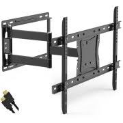 Ematic Full Motion TV Wall Mount Kit with HDMI Cable for 19