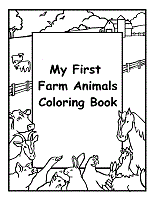 A beautiful set of four coloring pages you can print as many times as you like. Farm Animals Coloring Pages And Printable Activities 1