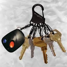 <b>Брелок</b> для ключей стальной <b>Nite Ize Key Rack</b> Black/Stainless ...