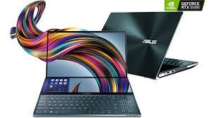 ASUS ZenBook Pro Duo 15″ 4K UHD OLED i7 RTX 2060 Studio Laptop   Global IT  Technology Ltd