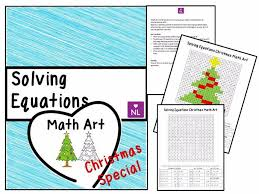 solving linear equations special math art by numberloving teaching resources tes