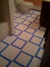 Diy Bathroom Floors Diy Painting Old Vinyl Floor Tiles Mary Wiseman Designs