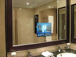 Tv For Bathrooms Bathroom Inside Homely Design Tv Mirrors For