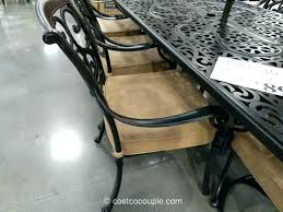 costco outdoor dining lovely patio table or 9 piece cast aluminum dining set 5 outdoor patio dining furniture costco outdoor dining chairs