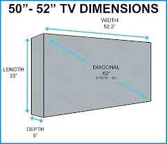 50 Tv Dimensions Dinneris Co
