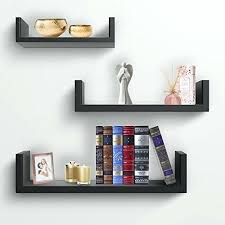 hanging wall shelves floating shelves u shaped hanging wall shelves for decoration perfect for picture frames