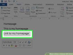 How to Make a Website With Word (with Pictures) - wikiHow