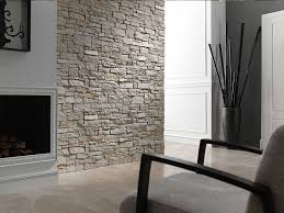 image of faux wall panels stones