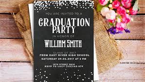Templates For Graduation Invitations 42 Printable Graduation Invitations Psd Ai Word Free