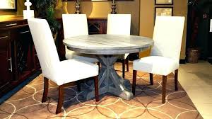 48 round dining table set inch round table how many chairs fit at a round table