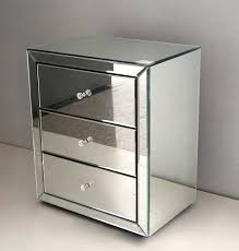 mirrored side table. Modern Side Tables For Bedroom Pictures Venetian Mirrored Bedside Table With Drawers Small Including Fabulous 2018