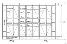 fascinating walk in closet design minimum dimensions master6