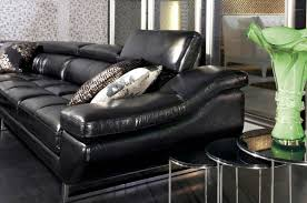 Black Leather Sectional Sofa With Recliner Furniture Reclining Sofa Sets Leather Sectionals For Sale