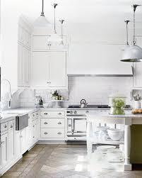 All White Kitchen Designs New Decorating Ideas