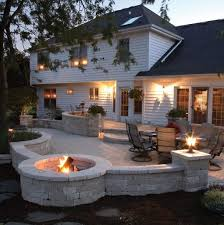 outdoor kitchen deck and outdoor patios designs with curves