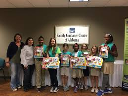 girl scouts of southern alabama gssa is honored to present the members of troop 9016 with the girl scout bronze award the highest recognition for