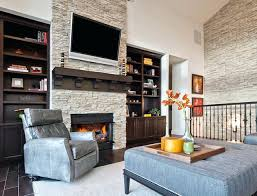 custom living room with fireplace stone accent wall transitional ideas and stone living room ideas accent wall with fireplace