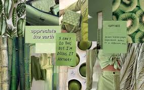 Desktop Wallpaper Sage Green Aesthetic ...