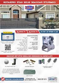 allomatic sl 150 ac slide gate operator package hp 1 hp us for allomatic garage door