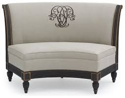 curved settee bench. Perfect Settee Attractive Curved Settee For Round Dining Table 10  Bench With T