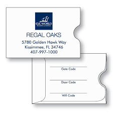 Hotel Accommodations Cards