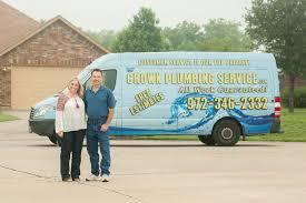 crown plumbing service plumbing prosper tx phone number yelp