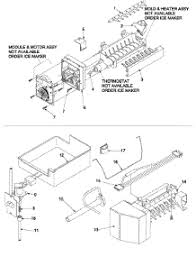 parts for amana arb2214cw parb2214cw0 refrigerator 07 optional ice maker kit ic11b p1328003w parts for amana refrigerator arb2214cw parb2214cw0