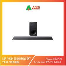 Mã ELMS03 giảm 7% đơn 500K] Loa thanh soundbar Sony 2.1 HT-CT80 80W